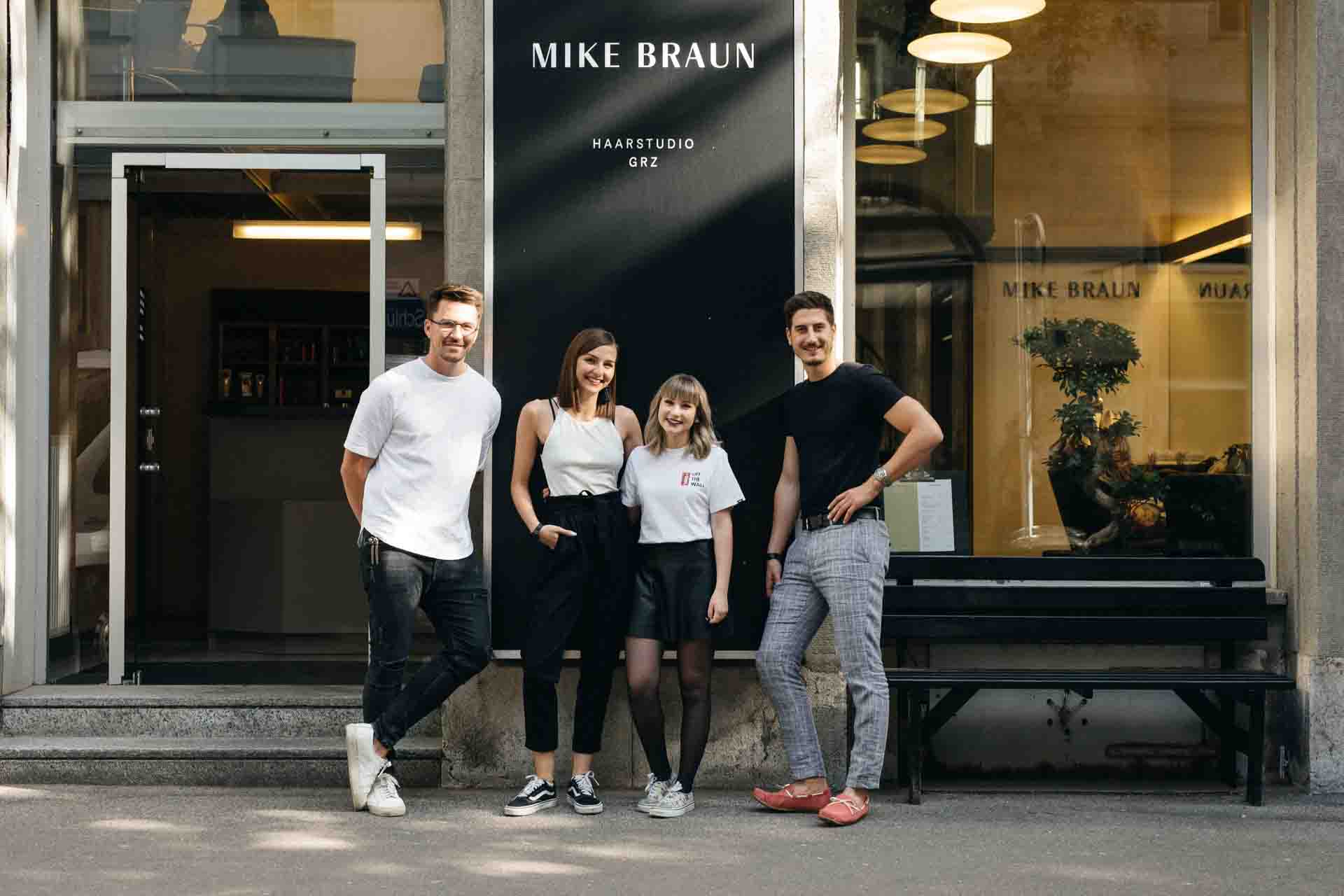 Mike Braun Haarstudio Graz Team